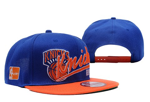 New York Knicks NBA Snapback Hat XDF089